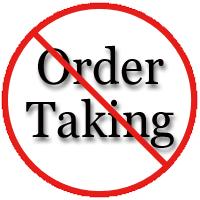 No Order Taking