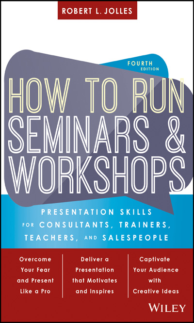 How to Run Seminars & Workshops Book